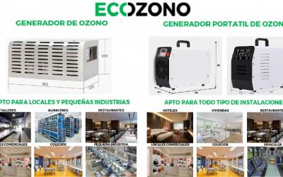 ECOZONO Aparatos generadores de ozono