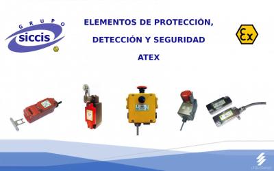 Elementos de protección, detección y seguridad ATEX